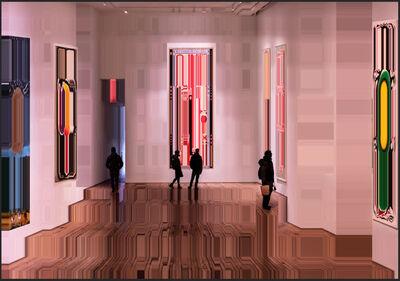 Asaf Gam Hacohen, 'Exhibition #2 NYC', 2021