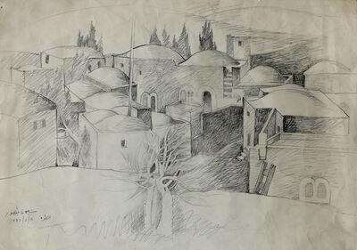 Sliman Mansour, 'Alteereh Village ', 1982