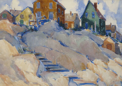 Walter Farndon, 'Steps to the Beach', 19th -20th Century