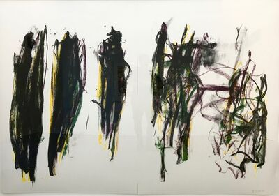 Joan Mitchell, 'Trees II (diptych)', 1992