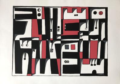 """José Gurvich, '""""Construcción en blanco, negro y rojo, 1973""""'"""