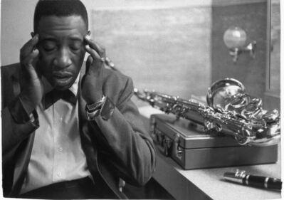 William Claxton, 'Joe Williams, Philadelphia ', 1960