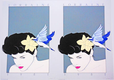 Patrick Nagel, 'Lorraine', 1981