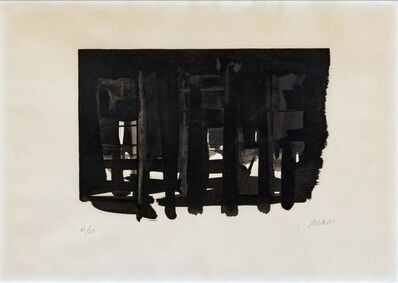 Pierre Soulages, 'Lithograph n° 16 ', 1964