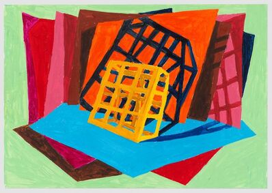 Phyllida Barlow, 'untitled: sodiumlit street object; 2020, 8', 2020