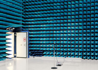 Vincent Fournier, 'Anechoic Chamber, European Space Research and Technology Centre [ESTEC], Noordwijk, The Netherlands, 2008.', 2008