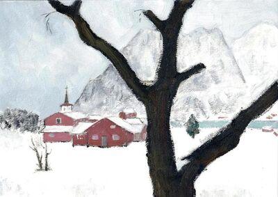 Li Shan  李珊 (b. 1957), 'Waiting for the Fresh Cinnamon Roll (Lofoten, Norway) 等肉桂卷出炉(罗浮敦群岛,挪威)', 2020