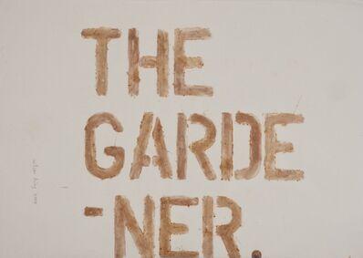 Wilson Diaz, 'The gardener', 2003