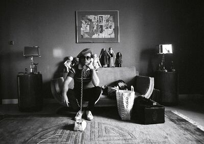 Terry O'Neill, 'Elton John with Telephone', 1974