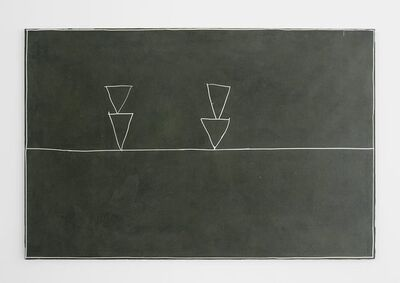 Clay Mahn, 'Blackboard (Stack)', 2017