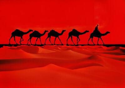 Mitchell Funk, 'Camel Caravan', 1981