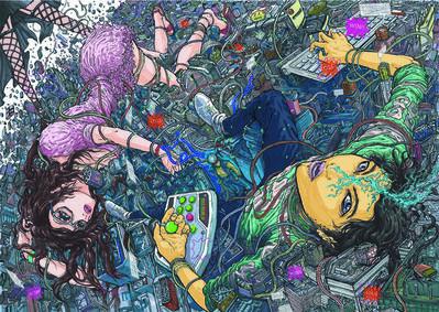 imaitoonz, 'Shinjuku Game', 2010