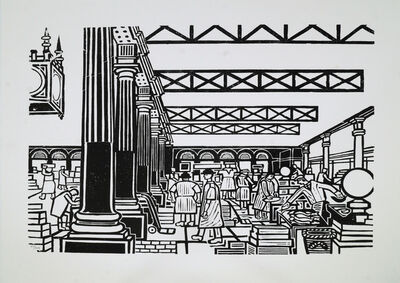 Edward Bawden, 'Billingsgate', 2009