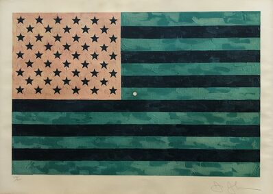Jasper Johns, 'Flag (Moratorium)', 1969
