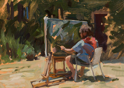 Marc Dalessio, 'Ben Painting', 2018
