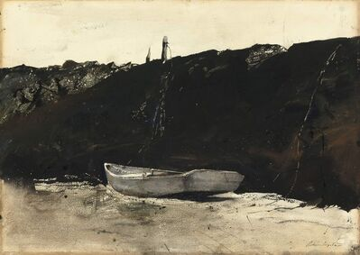 Andrew Wyeth, 'Teel's Landing', 1953