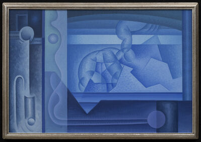 Raymond Jonson, 'Abstraction in Blue', 1930