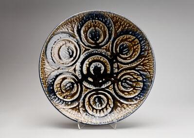 Tomoo Hamada, 'Plate, salt glaze', 2012