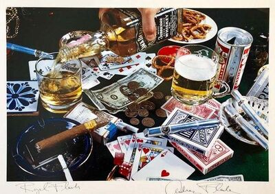 Audrey Flack, 'Royal Flush', 1983-1984