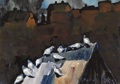 George Benjamin Luks, 'Dove Cote', 1925