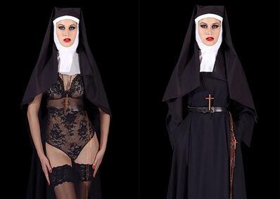 Cecile Plaisance, 'The nun (proche)', 2016