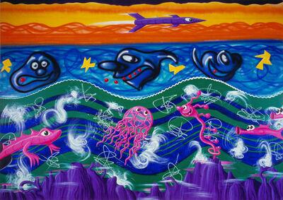 Kenny Scharf, 'Underaqua', 1984