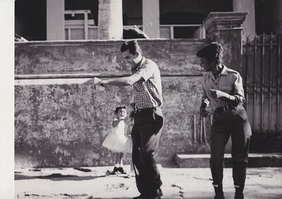 Agnès Varda, 'Cha-Cha-Cha  danced by members of the I.C.A.I.C among which Sarita Gomez wearing military clothes - Sarita Gomez and other film students dancing Cha-Cha-Cha (Cuba series)', 1962-1963
