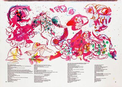 Pierre Alechinsky, 'Untitled (from 1 Cent Life Portfolio)', 1964
