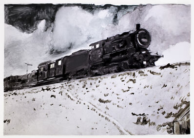 Michele Zalopany, 'Train', 1988