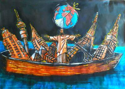 Senzo Shabangu, 'Raft of Icons (Original)', 2020