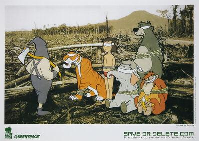 Banksy, 'Save or Delete (Greenpeace Print)', 2002