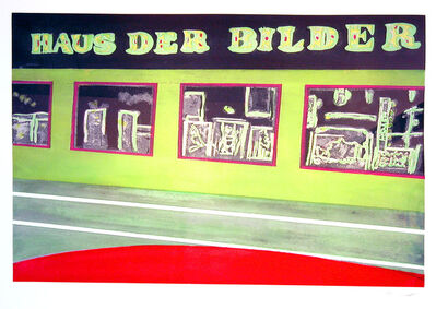 Peter Doig, ' Haus der Bilder from 100 Years Ago Portfolio ', 2000-2001