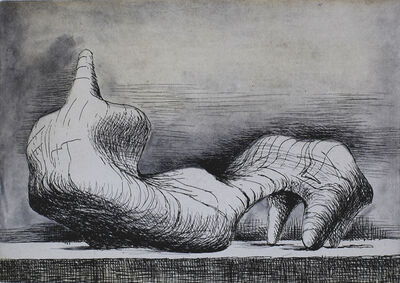 Henry Moore, 'Reclining Figure Point', 1976/79
