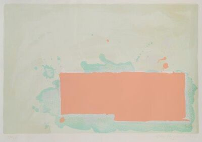 John Hoyland, 'Orange-Pink-Green', 1971