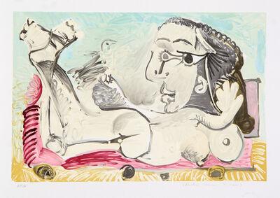 Pablo Picasso, 'Nu Couché à l'oiseau, 1968', 1979-1982
