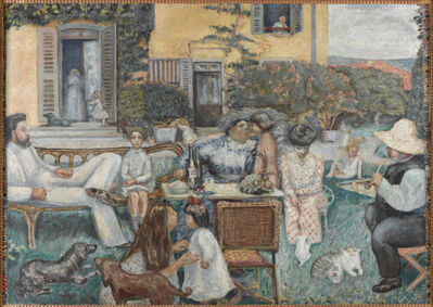 Pierre Bonnard, 'L'Après-midi bourgeoise, dit aussi La Famille Terrasse (A Bourgeois Afternoon or the Terrasse Family)', 1900
