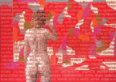 Agnès Thurnauer, 'Monochrome avec repentir', 2013
