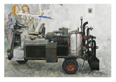 PG Thelander, 'Katafalk', Early 21st Century