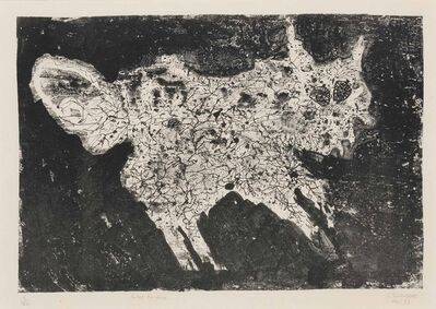 Jean Dubuffet, 'Chat Furieux', 1953