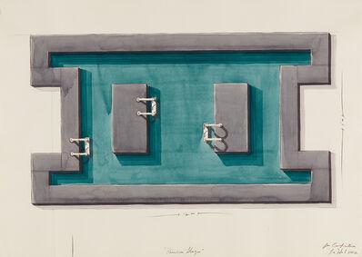 Los Carpinteros, 'Piscina Bloque (Swimming Pool-Block)', 2002