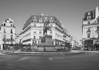 Jean-Christophe BALLOT, 'Place des Victoires (statue de Louis XIV)', 2020