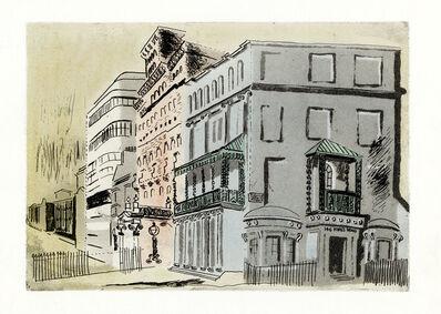 John Piper, 'Mixed Styles: Regency - Victorian - Modern', 1939