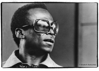 Amalie R. Rothschild, Jr., 'Miles Davis at Newport, July 5, 1969', 1969