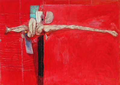 LJUBO IVANČIĆ, 'The Red Studio', 1990