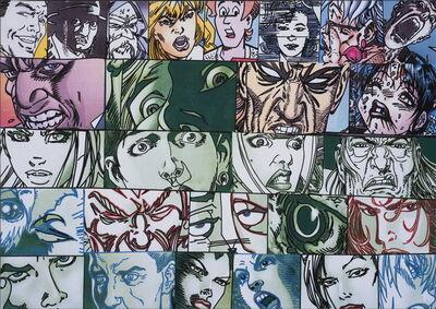 Erró, '26 visages', 2010