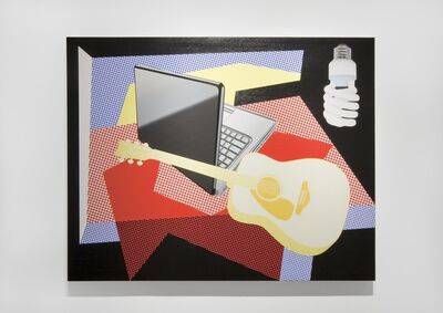 Douglas Coupland, 'Modern Still Life with Laptop and Energy Efficient Light Bulb', 2013