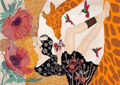 Hanna Horiachkina, 'On the top of the dream', 2019