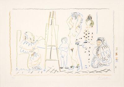 Pablo Picasso, 'L'Atelier du Vieux Peintre (Old Painter's Studio)', 1954
