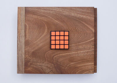 Adriana Ramirez, 'Puntos Ciegos ( Orange )', 2017