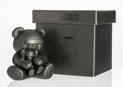 KAWS X Jun Takahashi, 'Undercover Bear Companion (Black)', 2009